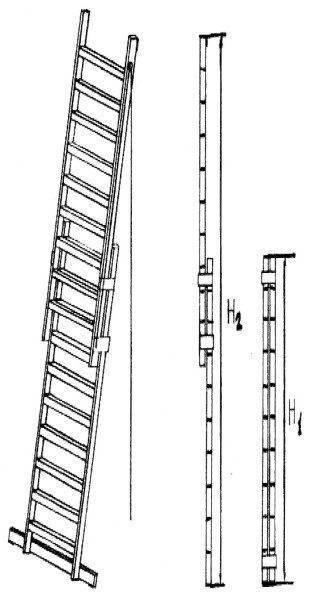 Приставные деревянные лестницы: самостоятельное изготовление