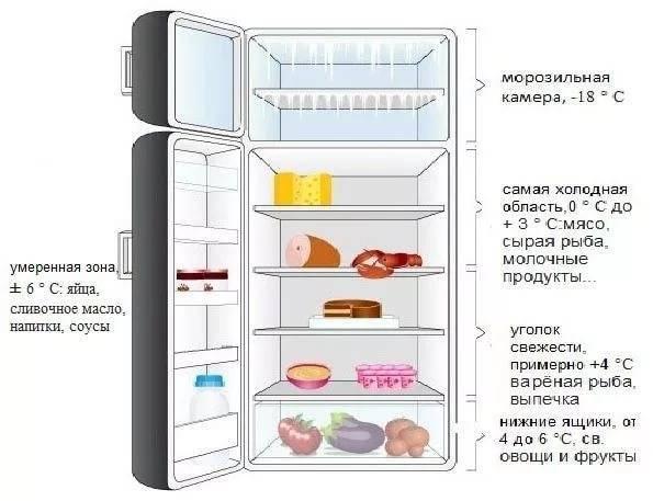 Градусы для холодильника