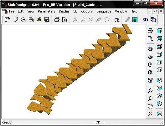 Смоделируйте вид своей лестницы на компьютере – для этого может подойти даже бесплатный вариант любой конструкторской программы