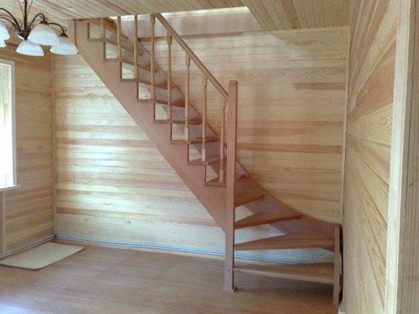 Лестница в подвал – виды и материалы