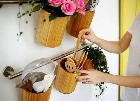 Бамбуковые емкости