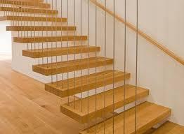 Типовая консольная лестница с подвесной системой и перилами