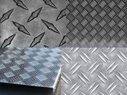 Типы рифлёного металла для ступеней