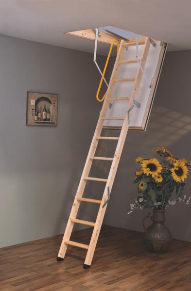 Удачный выбор - чердачные лестницы Minka