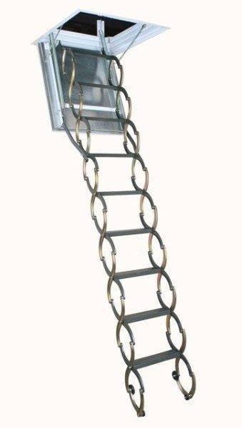 Установка чердачной лестницы Fakro осуществляется аналогично другим аналогам