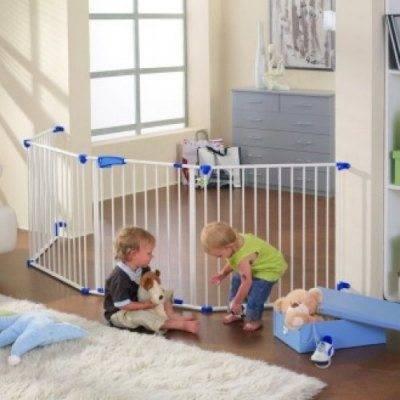 Увеличивая количество секций, можно перекрыть пространство любой площади, ограничивая ребенку доступ к зонам повышенной опасности