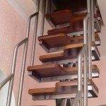 Вариант лестницы на чердак