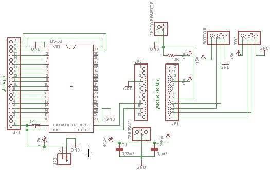 Вариант схемы для подсветки
