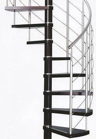 Винтовая лестничная конструкция.