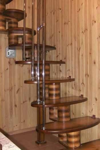 Винтовая модульная лестница – это не только стандартные конструкции, но и дизайн, который вы можете выбрать по своему усмотрению