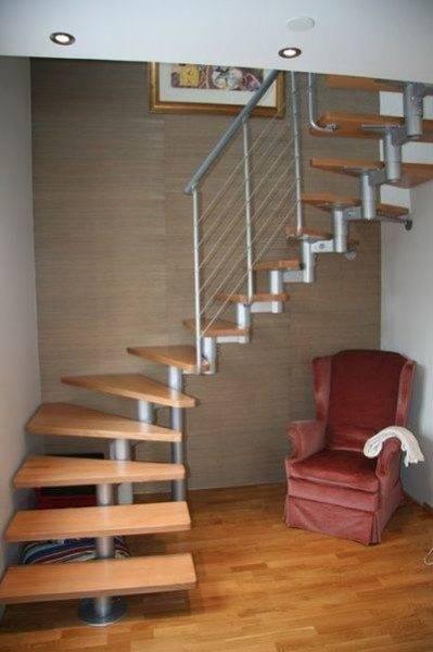 Внешний вид модульной лестницы.