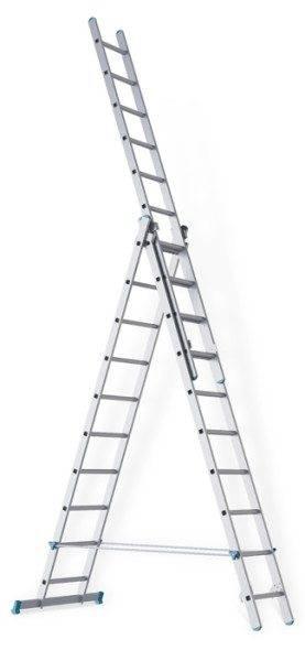 Вот так выглядит лестница с телескопической секцией