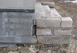 Возможные последствия строительства крыльца без фундамента
